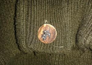 Boggo MM - Ékszer szarvasagancs gomb ruhán