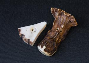Hajtókagombok: 1 - szarvas, 2 - őz (kicsi/nagy)